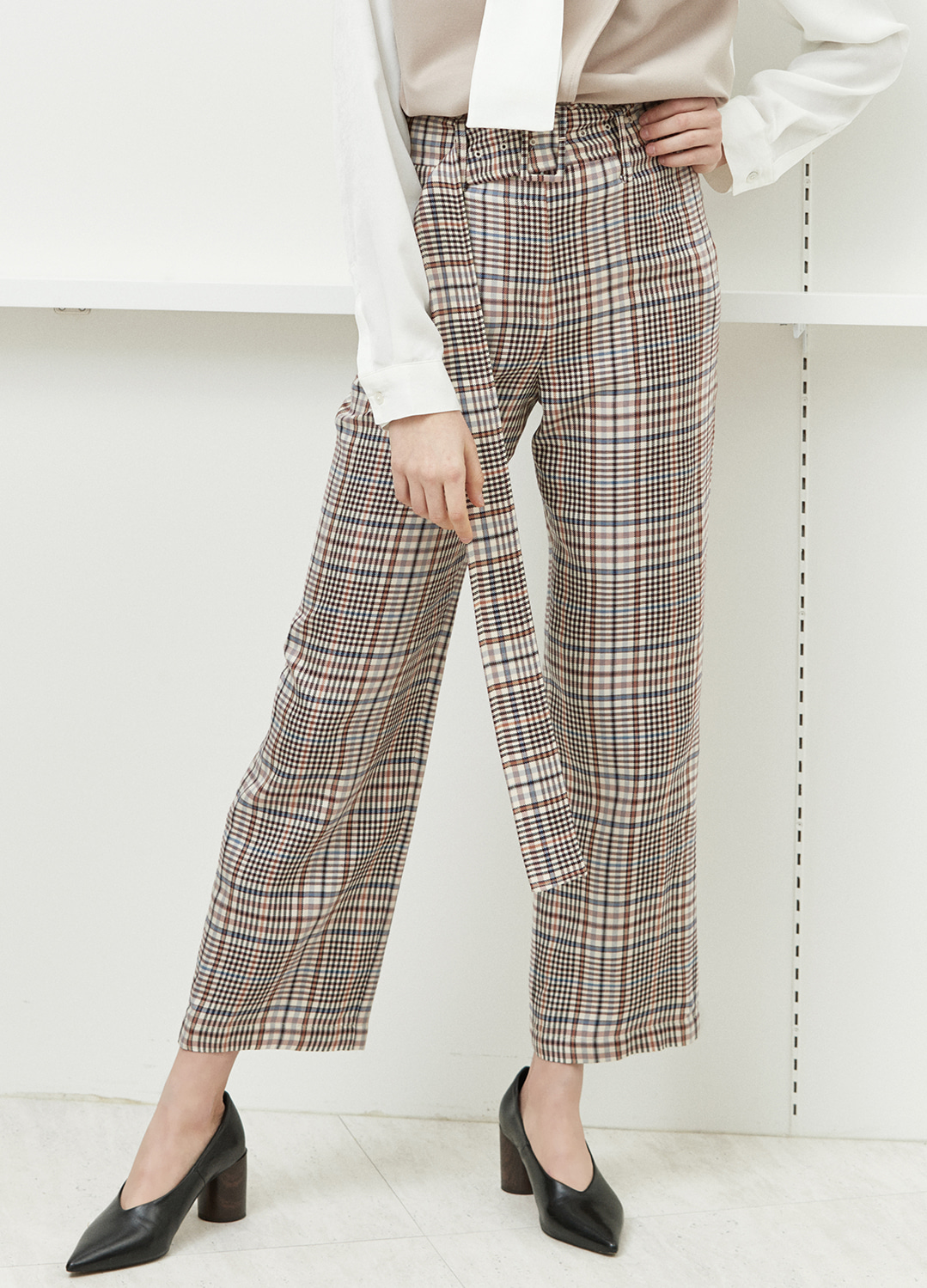 belted high waist pants Check 20%