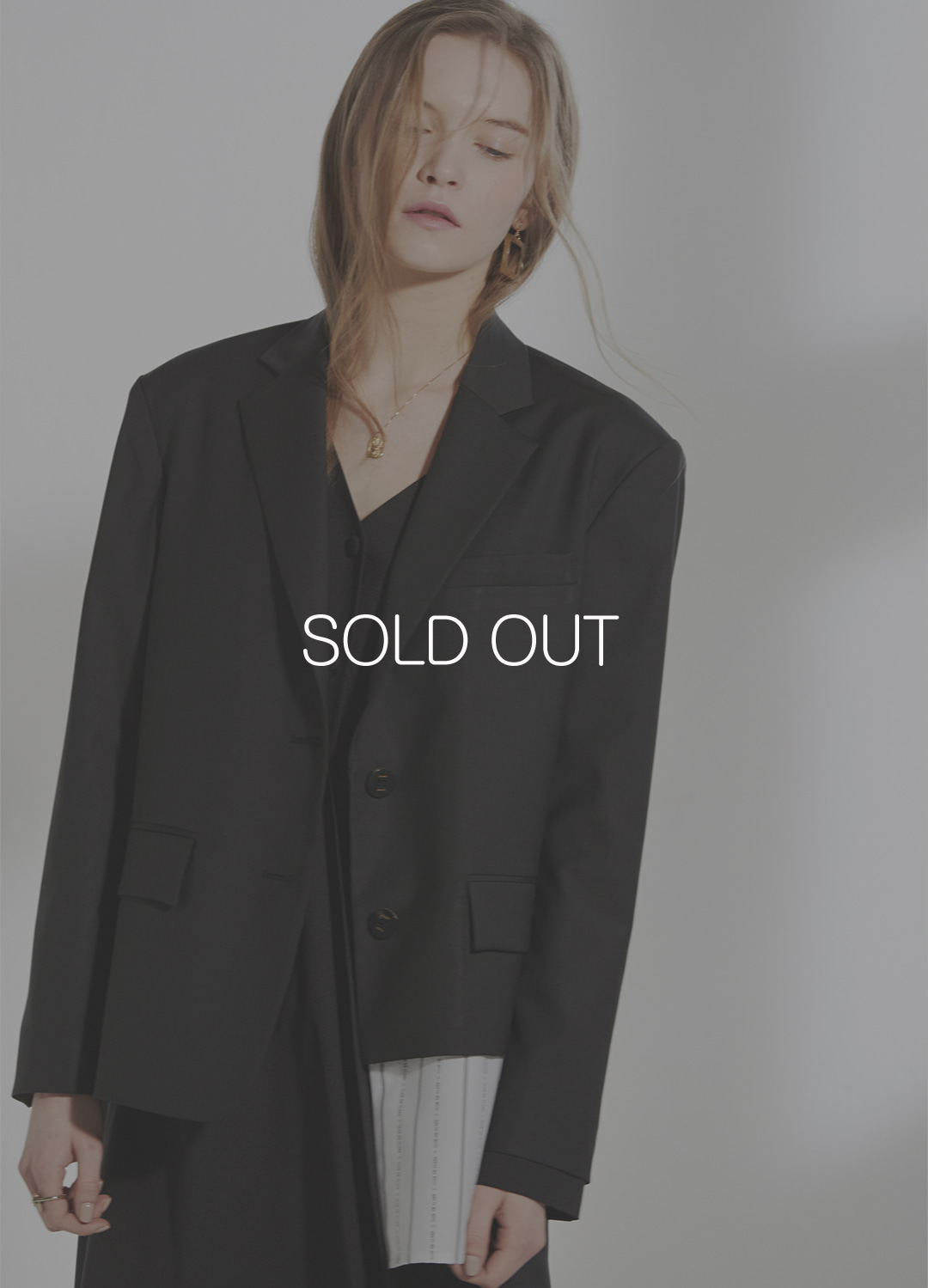 oversized shirts  detail jacket Black 30%