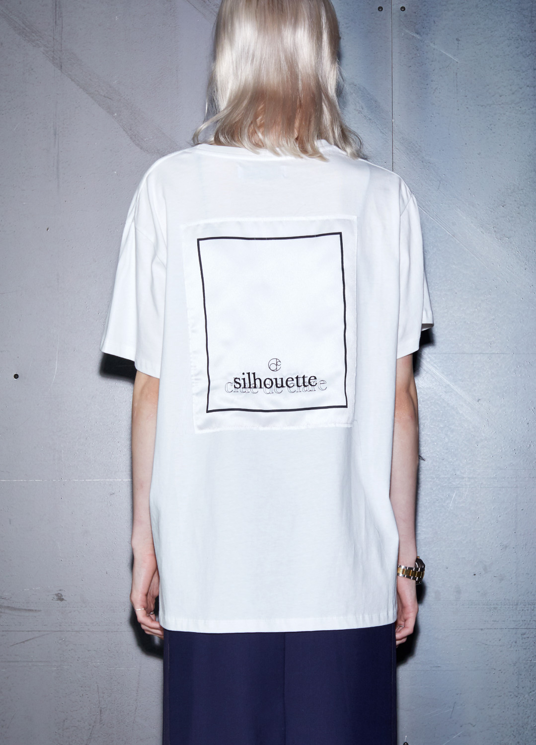 silhouette t-shirts White